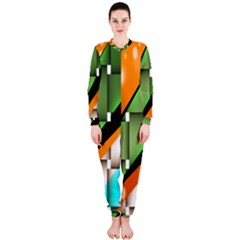 Abstract Wallpapers OnePiece Jumpsuit (Ladies)
