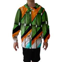 Abstract Wallpapers Hooded Wind Breaker (kids)