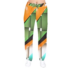 Abstract Wallpapers Drawstring Pants