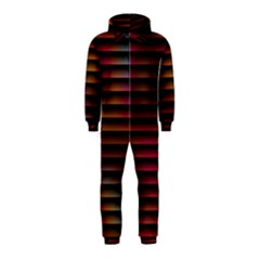 Colorful Venetian Blinds Effect Hooded Jumpsuit (Kids)