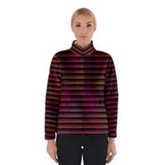 Colorful Venetian Blinds Effect Winterwear