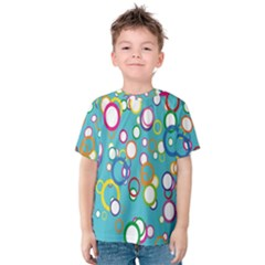 Circles Abstract Color Kids  Cotton Tee
