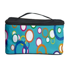 Circles Abstract Color Cosmetic Storage Case