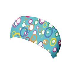 Circles Abstract Color Yoga Headband