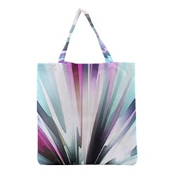 Flower Petals Abstract Background Wallpaper Grocery Tote Bag