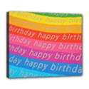 Colorful Happy Birthday Wallpaper Deluxe Canvas 24  x 20   View1
