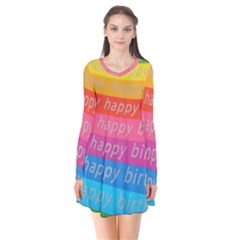 Colorful Happy Birthday Wallpaper Flare Dress