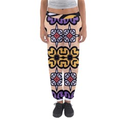 Abstract Seamless Background Pattern Women s Jogger Sweatpants