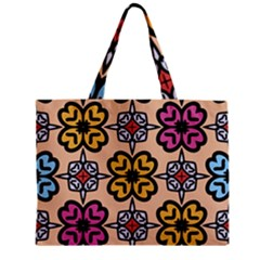 Abstract Seamless Background Pattern Zipper Mini Tote Bag