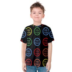 Happy Birthday Colorful Wallpaper Background Kids  Cotton Tee