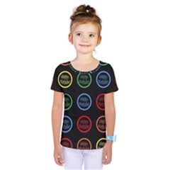 Happy Birthday Colorful Wallpaper Background Kids  One Piece Tee