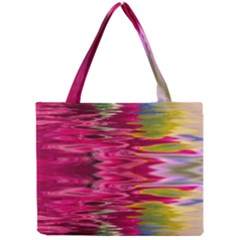 Abstract Pink Colorful Water Background Mini Tote Bag