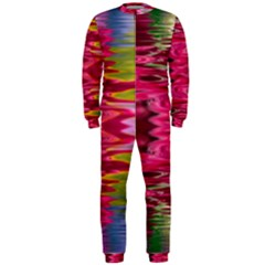 Abstract Pink Colorful Water Background OnePiece Jumpsuit (Men)