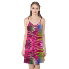 Abstract Pink Colorful Water Background Camis Nightgown