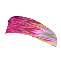 Abstract Pink Colorful Water Background Stretchable Headband