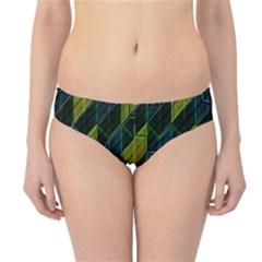 Modern Geometric Seamless Pattern Hipster Bikini Bottoms