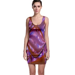 Passion Candy Sensual Abstract Sleeveless Bodycon Dress