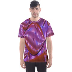 Passion Candy Sensual Abstract Men s Sport Mesh Tee