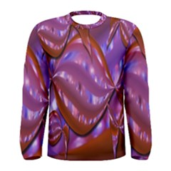 Passion Candy Sensual Abstract Men s Long Sleeve Tee