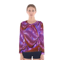 Passion Candy Sensual Abstract Women s Long Sleeve Tee