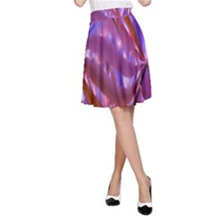 Passion Candy Sensual Abstract A-Line Skirt