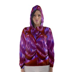 Passion Candy Sensual Abstract Hooded Wind Breaker (Women)
