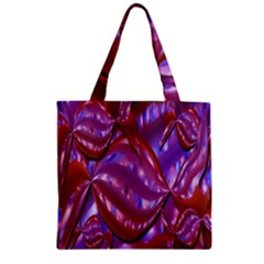 Passion Candy Sensual Abstract Zipper Grocery Tote Bag