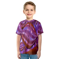 Passion Candy Sensual Abstract Kids  Sport Mesh Tee