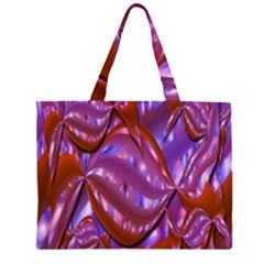 Passion Candy Sensual Abstract Zipper Large Tote Bag