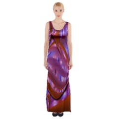 Passion Candy Sensual Abstract Maxi Thigh Split Dress