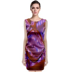 Passion Candy Sensual Abstract Classic Sleeveless Midi Dress
