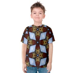 Abstract Seamless Background Pattern Kids  Cotton Tee
