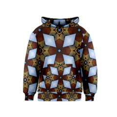 Abstract Seamless Background Pattern Kids  Pullover Hoodie