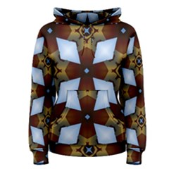 Abstract Seamless Background Pattern Women s Pullover Hoodie