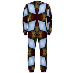 Abstract Seamless Background Pattern OnePiece Jumpsuit (Men)
