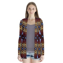 Abstract Seamless Background Pattern Cardigans