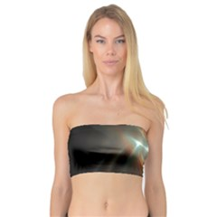 Colorful Waves With Lights Abstract Multicolor Waves With Bright Lights Background Bandeau Top