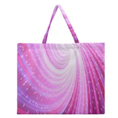 Vortexglow Abstract Background Wallpaper Zipper Large Tote Bag