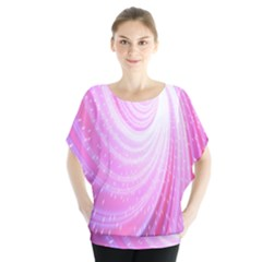 Vortexglow Abstract Background Wallpaper Blouse