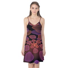 Heart Invasion Background Image With Many Hearts Camis Nightgown