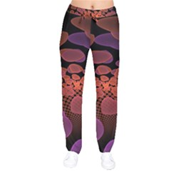 Heart Invasion Background Image With Many Hearts Drawstring Pants