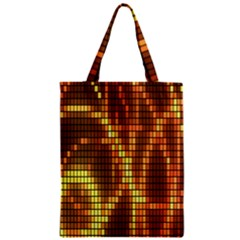 Circle Tiles A Digitally Created Abstract Background Zipper Classic Tote Bag