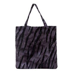 Skin3 Black Marble & Black Watercolor (r) Grocery Tote Bag