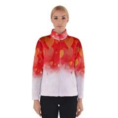 Abstract Love Heart Design Winterwear