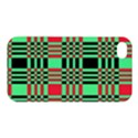 Bright Christmas Abstract Background Christmas Colors Of Red Green And Black Make Up This Abstract Apple iPhone 4/4S Hardshell Case View1