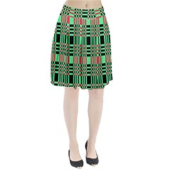Bright Christmas Abstract Background Christmas Colors Of Red Green And Black Make Up This Abstract Pleated Skirt