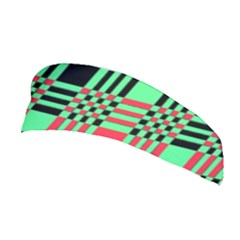 Bright Christmas Abstract Background Christmas Colors Of Red Green And Black Make Up This Abstract Stretchable Headband