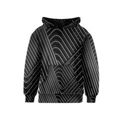 Chrome Abstract Pile Of Chrome Chairs Detail Kids  Pullover Hoodie