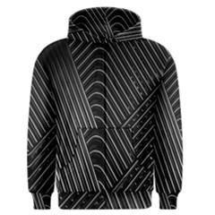 Chrome Abstract Pile Of Chrome Chairs Detail Men s Zipper Hoodie