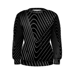 Chrome Abstract Pile Of Chrome Chairs Detail Women s Sweatshirt